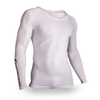 Supa X ® Long Sleeve Training Compression Top - White