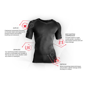 Supacore Short Sleeve Training Compression Top
