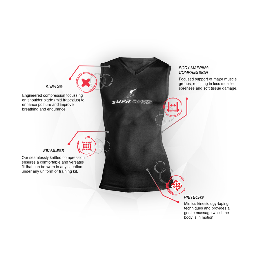 Unisex Training Sleeveless Compression Top