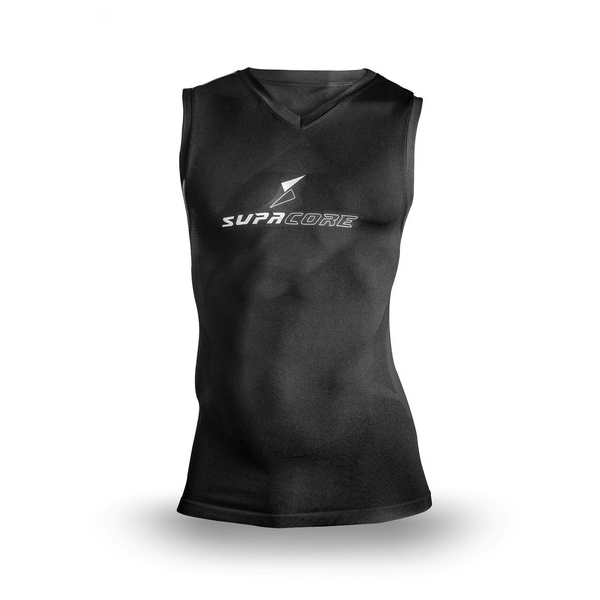 Supa X ® Sleeveless body mapped Compression Top (Multi Color)