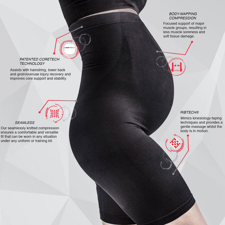 maternity compression shorts