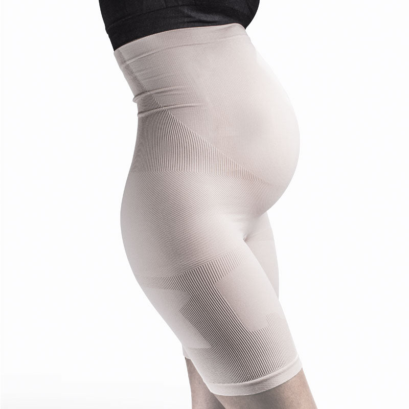 maternity compression shorts nude