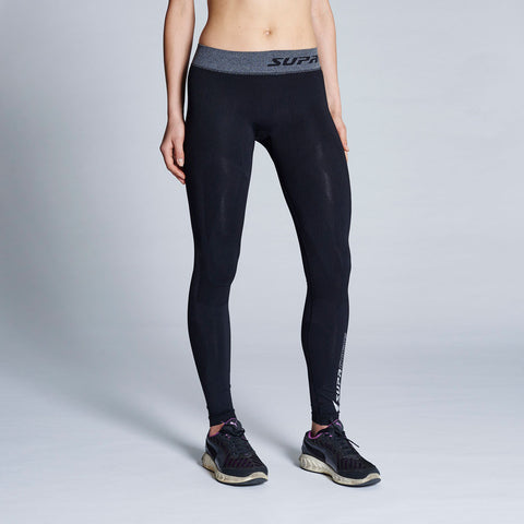 Women's Performance Training Compression Leggings (Black)