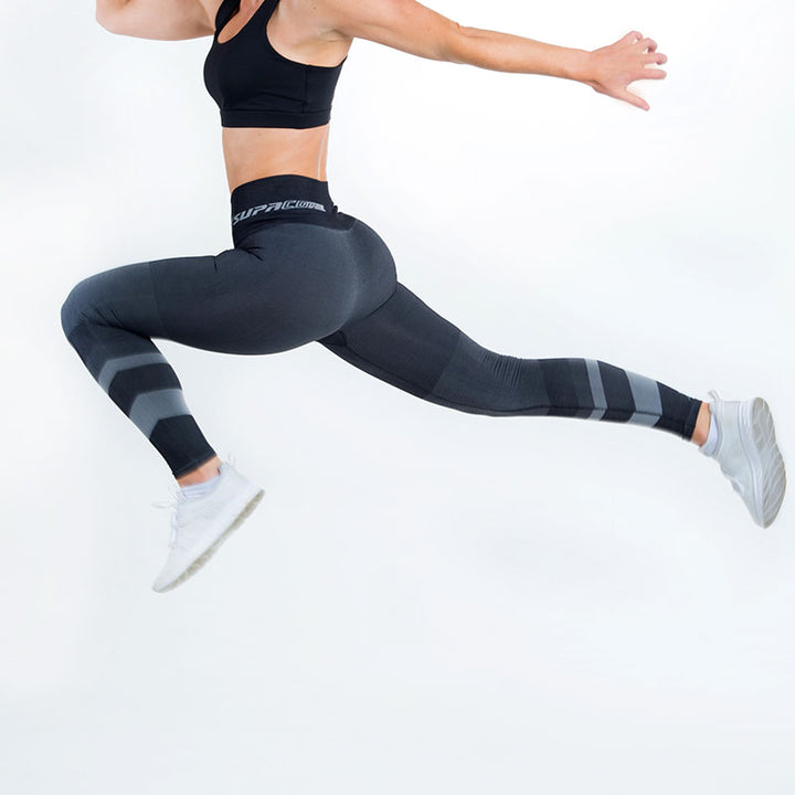 Patented CORETECH® Injury Recovery and Postpartum Compression Leggings (Grey Jacinda)