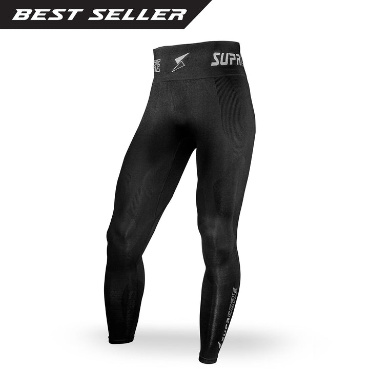 Patented Men's CORETECH® compression Leggings for groin,hamstring injury and osteitis pubis.