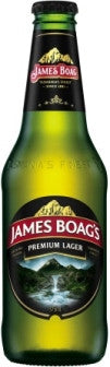 JAMES BOAG'S PREMIUM LAGER 24 x 375ML CARTON