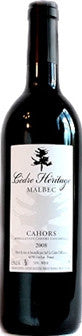 CEDRE HERITAGE CAHORS MALBEC 2009