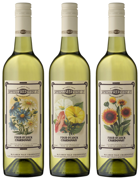 SPRING SEED WINE CO. FOUR O'CLOCK CHARDONNAY