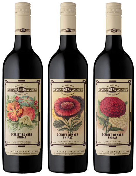 SPRING SEED WINE CO. SCARLET RUNNER SHIRAZ