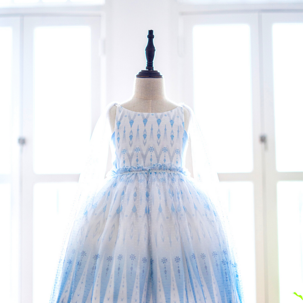 *New Arrival* Enchanted Snow Gem Tulle