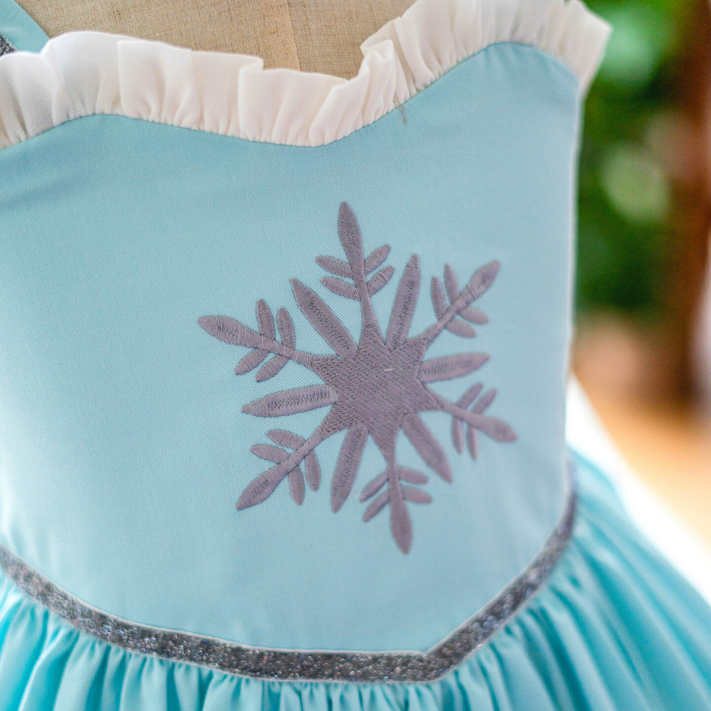 Enchanted Snow Flake - Flutter Sleeves