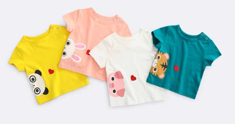 Animal Heart Tee (Up to 122cm)