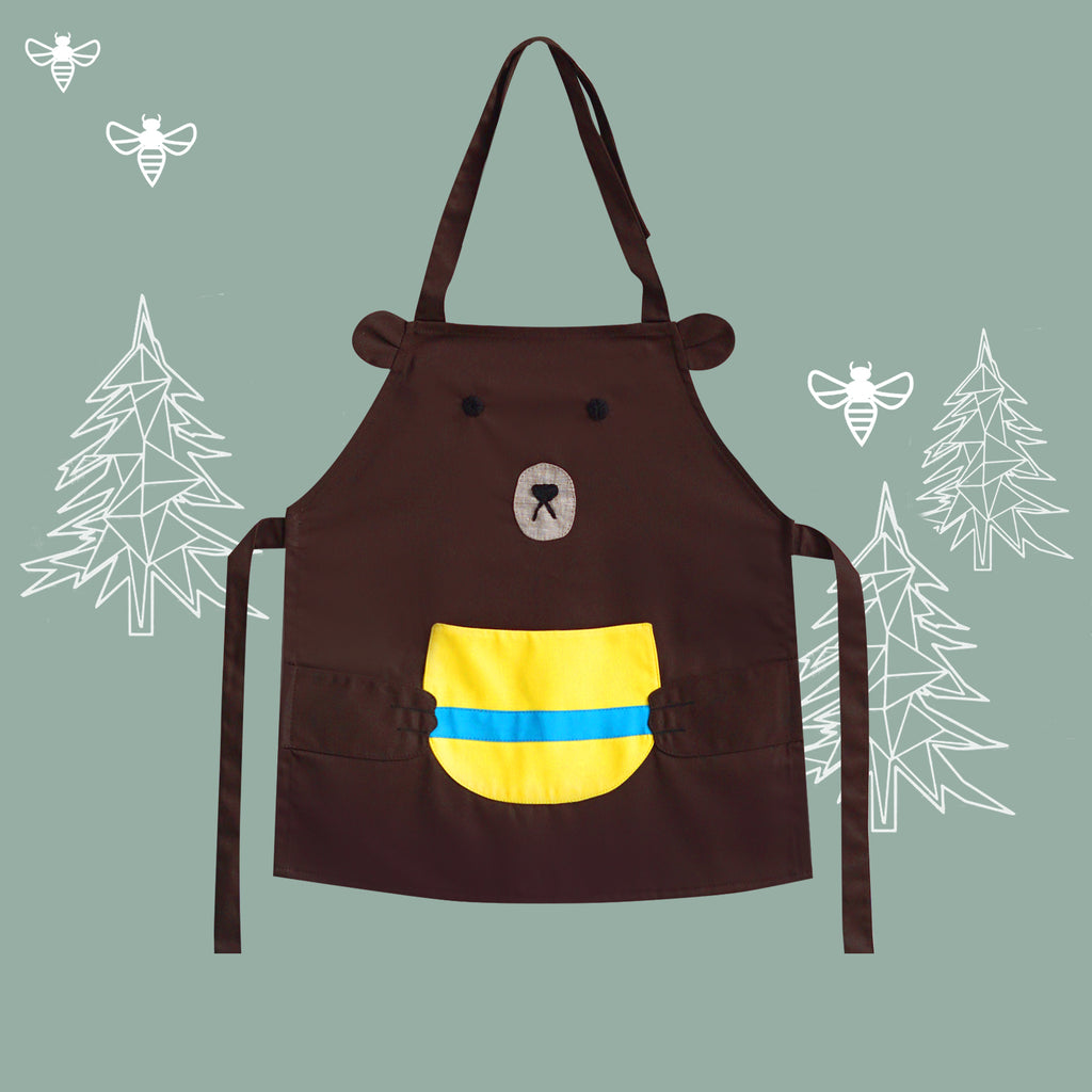Petite Activity Apron - Dalgona the Honeybear