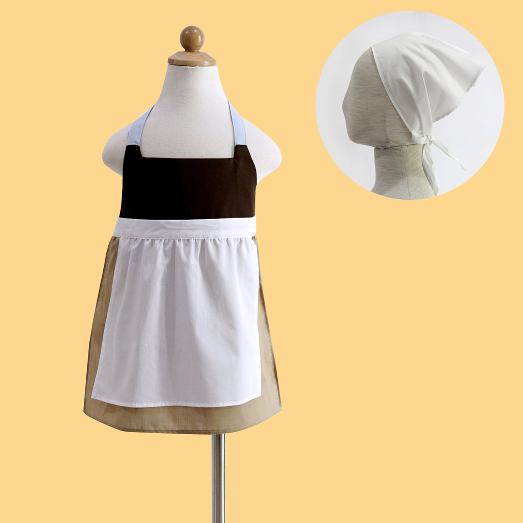 Petite Activity Apron - Cinderella (Free head scarf)