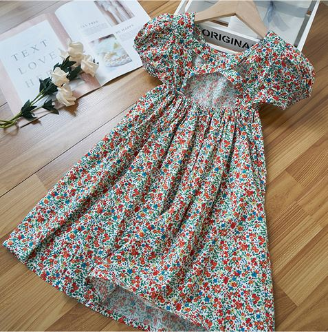 Anna Floral Dress (Up to 160cm)