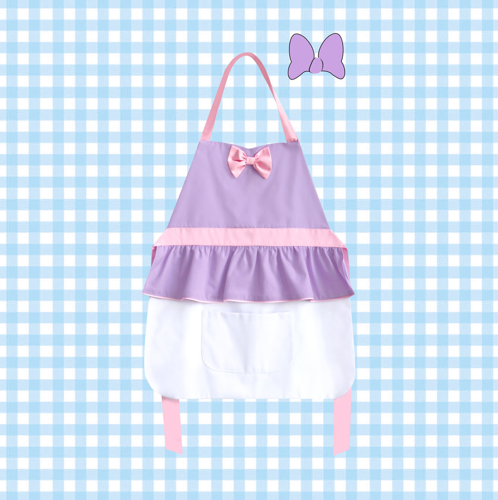*NEW* Petite Activity Apron - Daisy Purple