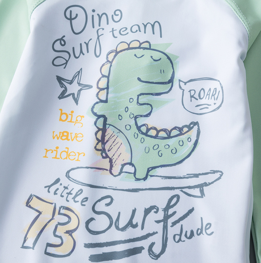 *NEW* Dino Surf Team Rashguard Set (Up to 140cm)