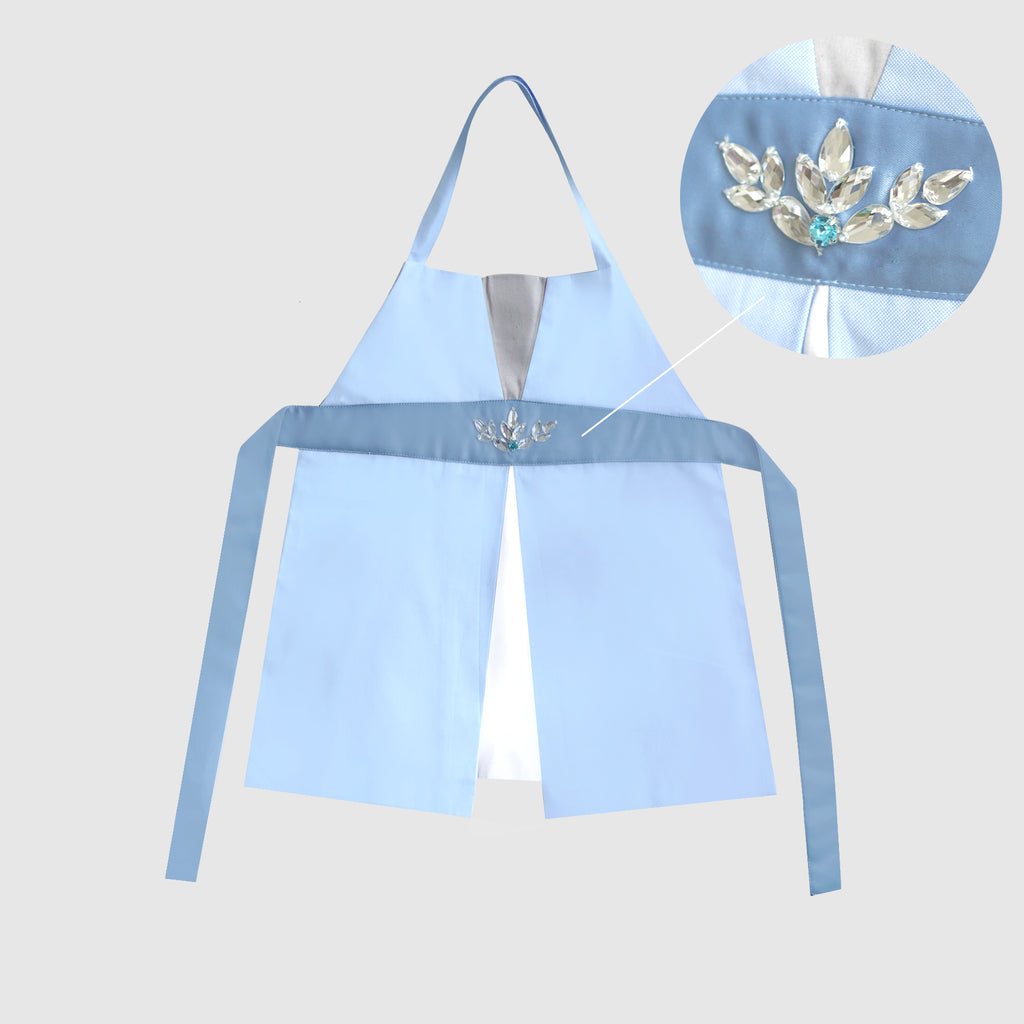 Petite Activity Apron - Snow Princess