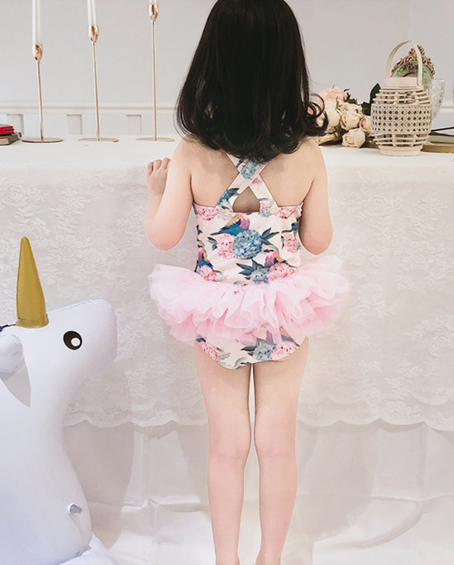 Hummingbird Tulle Swimsuit (Up to 135cm)
