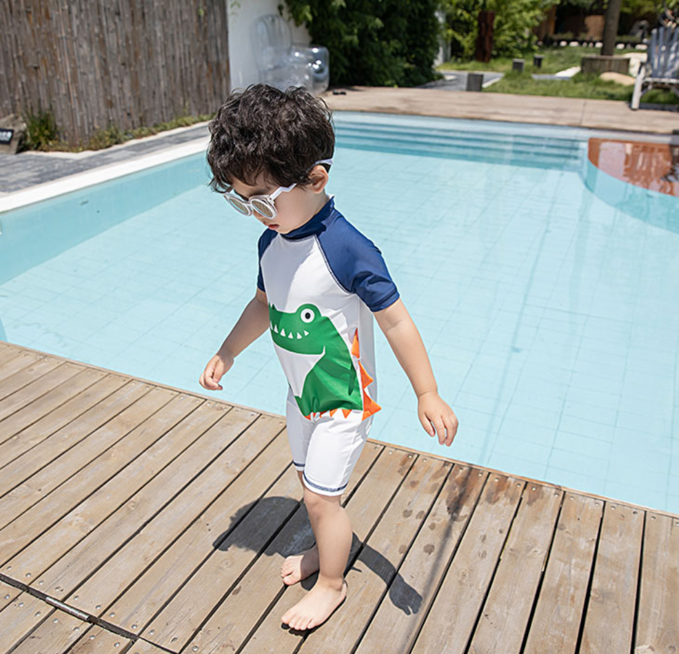 *NEW* Gerald Green Dino Swimsuit (Up to 125cm)