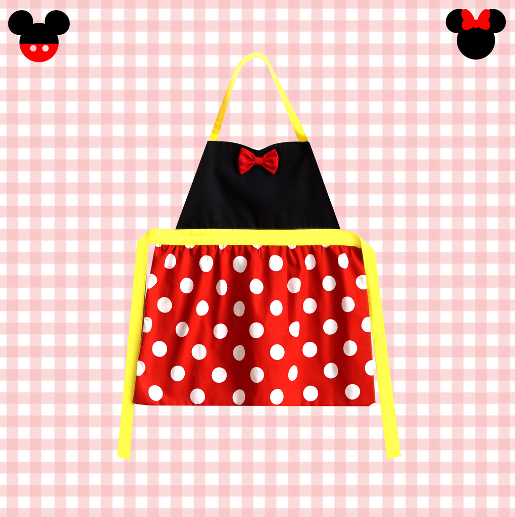 *NEW* Petite Activity Apron - Mouse Love