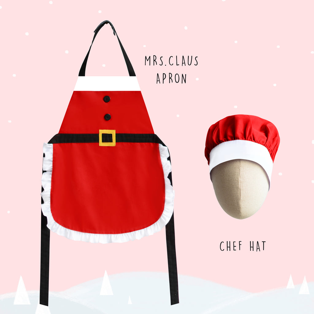 *New Arrival* Petite Activity Apron - Mrs Claus