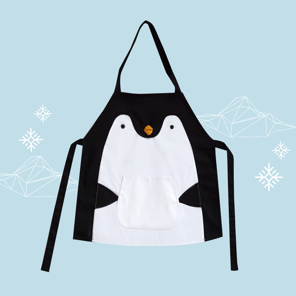 Petite Activity Apron - Pocky the Penguin
