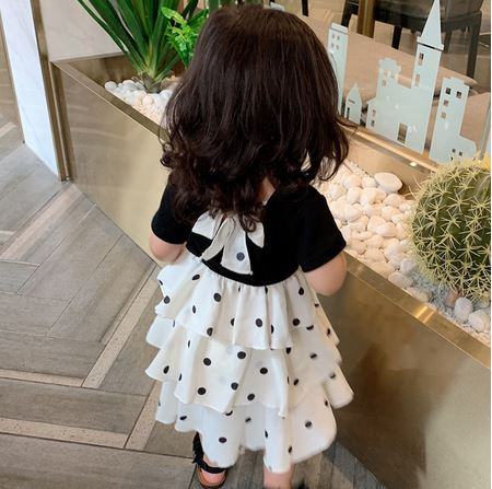 Polka Dot Cupcake Dress