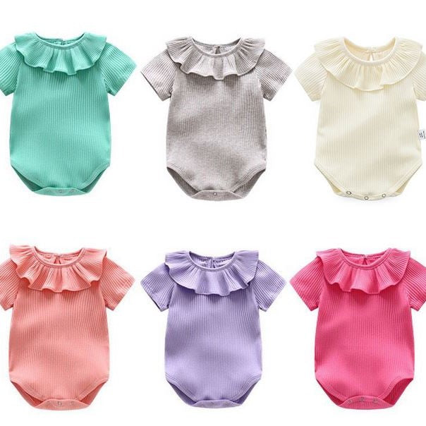 Candy Ruffle Romper (Up to 90cm)