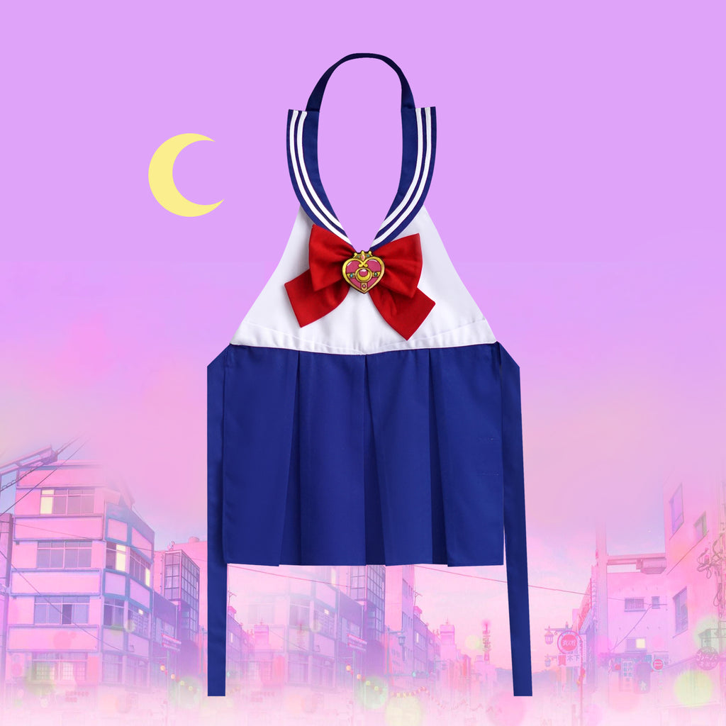 Petite Activity Apron - Moon Princess