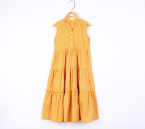 Miley Golden Ray Dress (110 - 165cm)