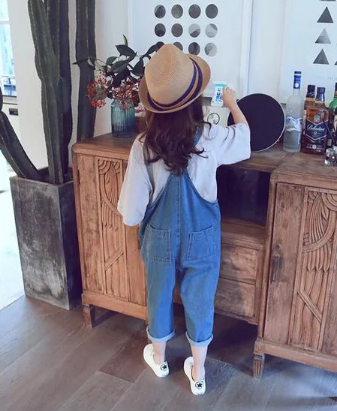 Relaxed Fit Dungaree (100 - 160cm)