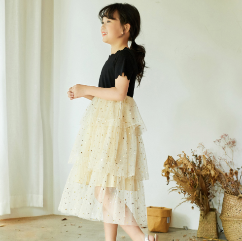 Fairy Layered Tulle Dress (120 - 165cm)