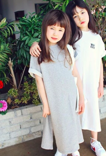 Whatever Tshirt Dress (90 - 165cm) *Great for Twinning!