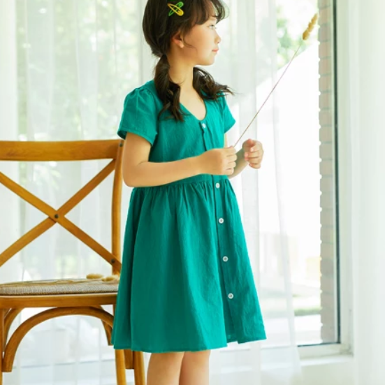 Tasha Crisscross Summer Dress (Up to 160cm)