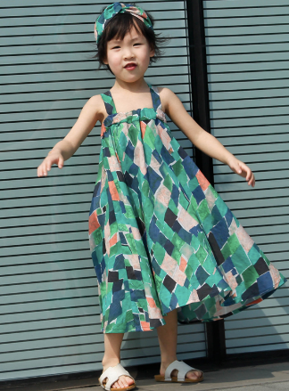 Ava Island Hop Dress (Up to Mama Size) *Great for twinning*