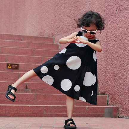 Blaire Polka Dot Dress (Up to Mama Size) *Great for twinning*