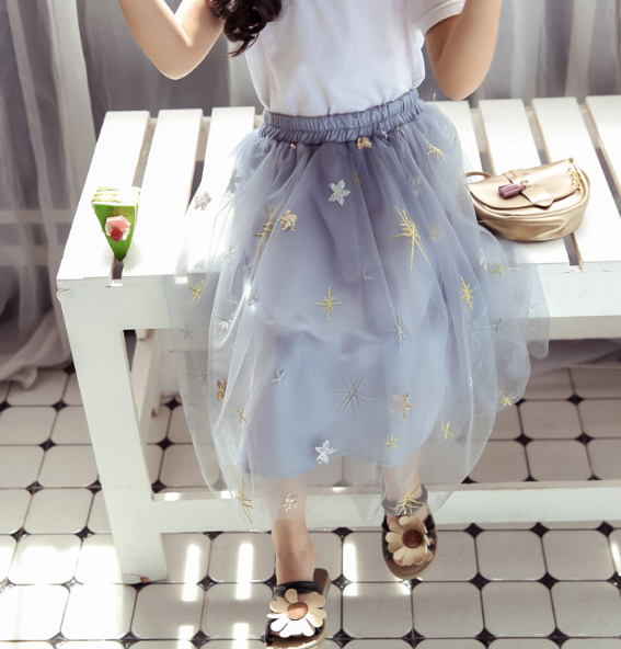 Lyra Starry Skirt (Up to Mama Size)