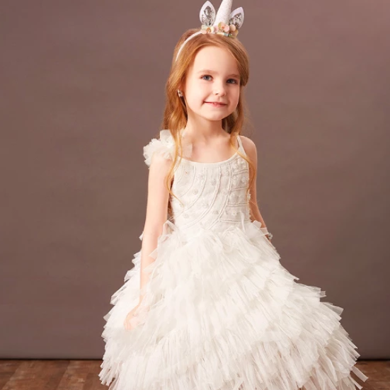 *Premium* Penelope Unicorn Dress (Up to 150cm)