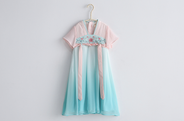 Ombre Cheongsam (Up to 140cm)