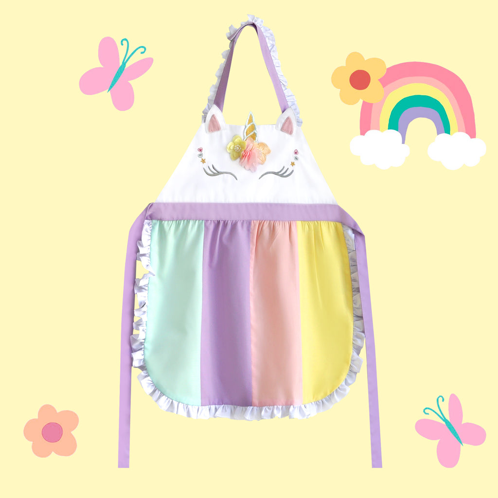 *Best-seller* Petite Activity Apron - Unicorn Dream