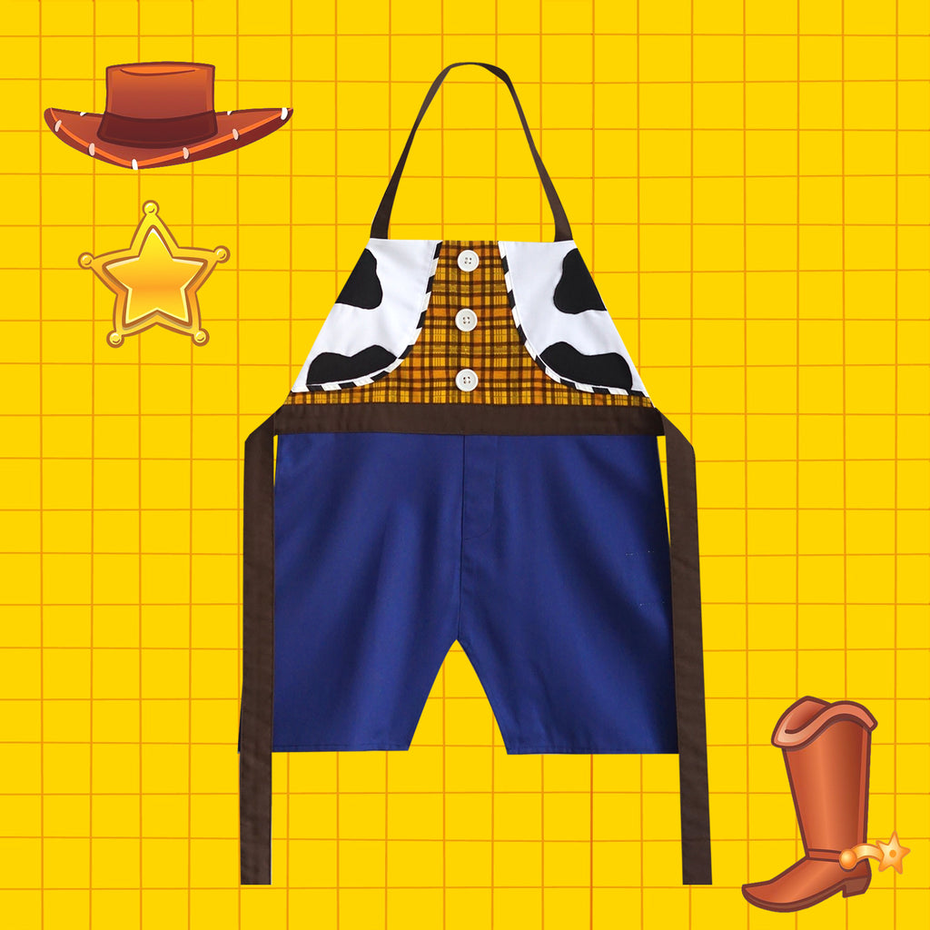 Petite Activity Apron - Cowboy Hero