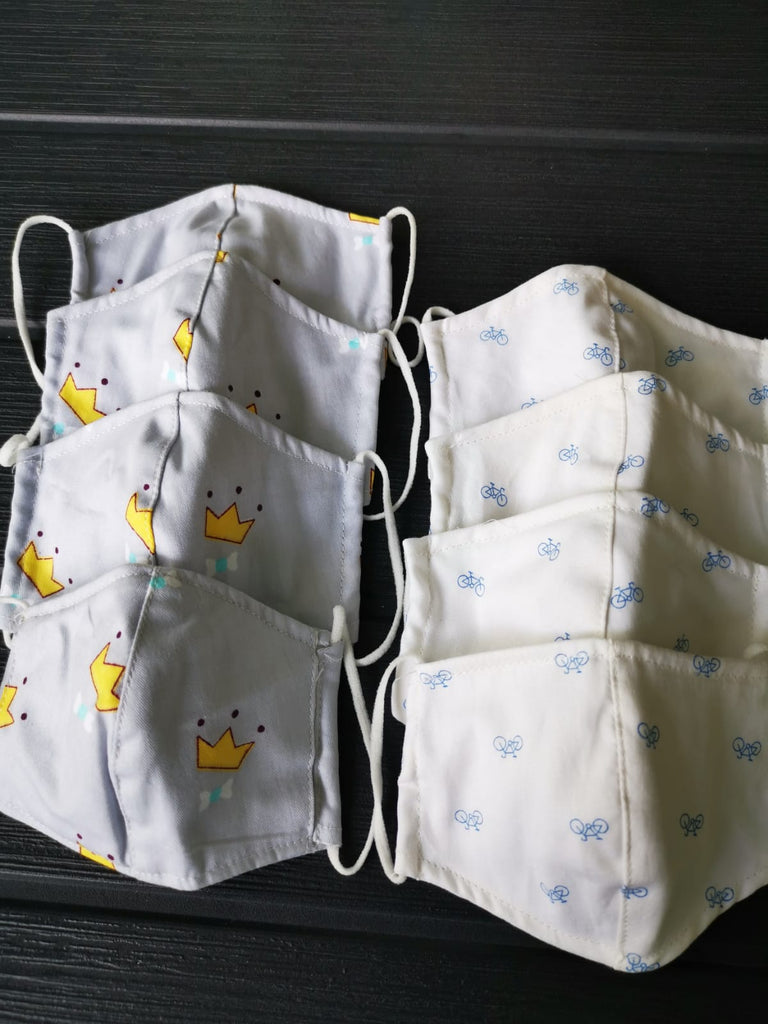 Best-selling 100% Cotton Fabric Mask - BABY (Under 3 yr old) *Delivery from 25 Sep*