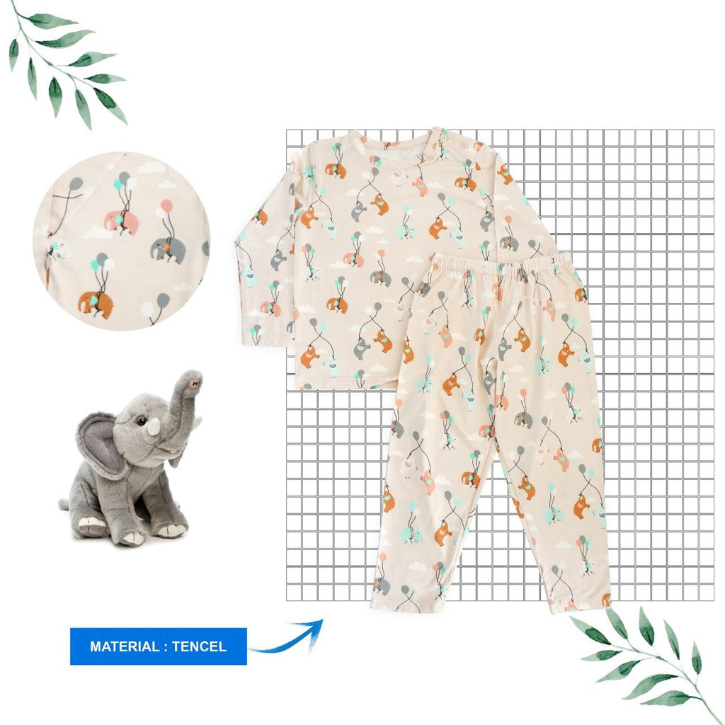 *NEW* CUDDLES Super Soft Tencel Pyjamas - Fly Away Ellie
