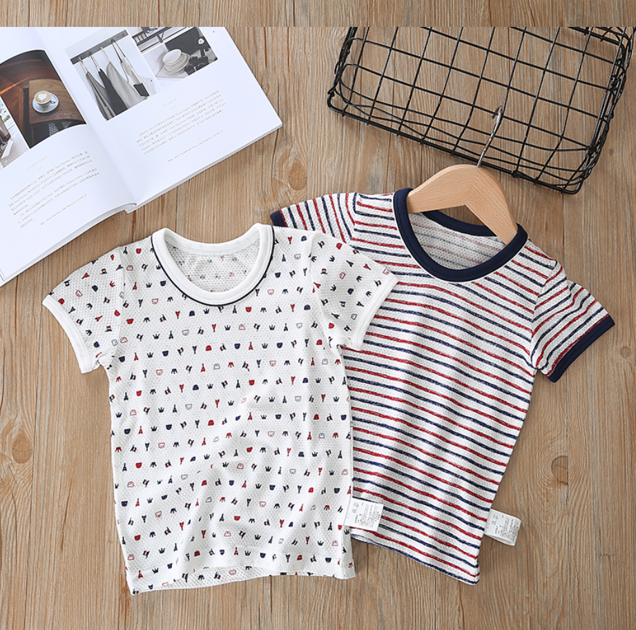 Petite Homewear - Bonjour Paris Tees Up to 140cm  (Set of 2)