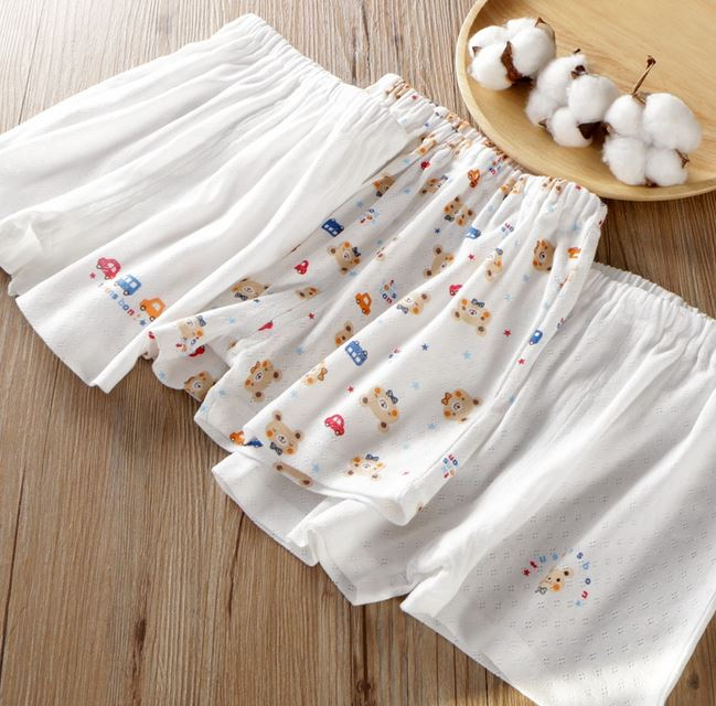 Petite Homewear - Car & Bear Shorts Up to 140cm (Set of 3)