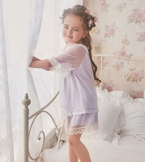 Princess Celia Lace Shorts Set (Up to 140cm)
