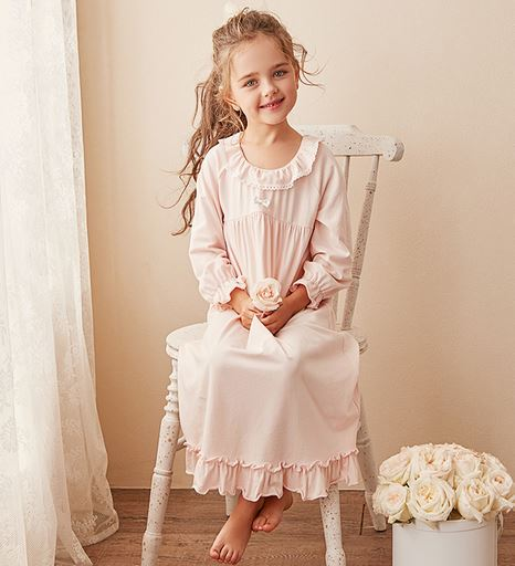 Fayette Long Nightgown (Up to 150cm)