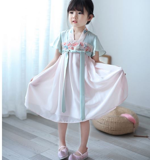 Peony Cheongsam Dress (Up to 140cm)