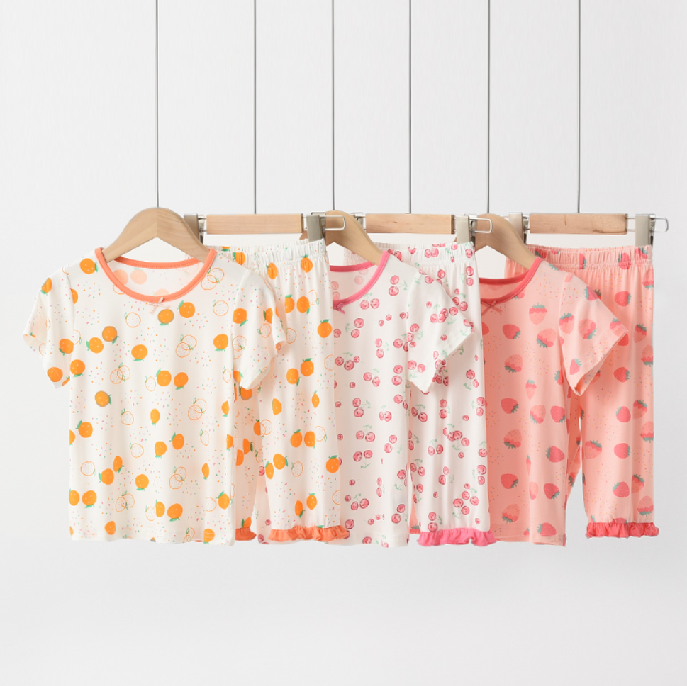 Petite Homewear - Fruity Fairy Tee & Shorts Set (Up to 140cm)